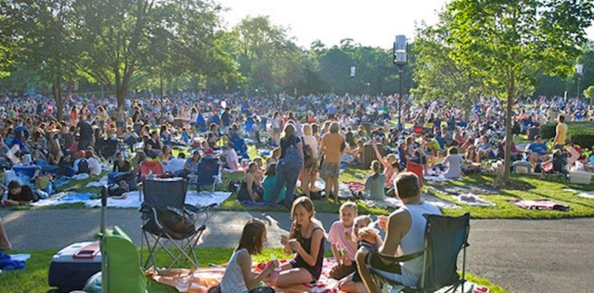 El popular festival Ravinia incluirá 64 funciones entre el 1 de julio y el 26 de septiembre. Foto captura web Festival Ravinia