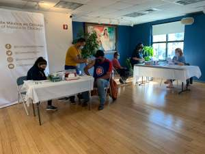 Consulado mexicano prepara más jornadas de vacunación covid-19 para sus connacionales