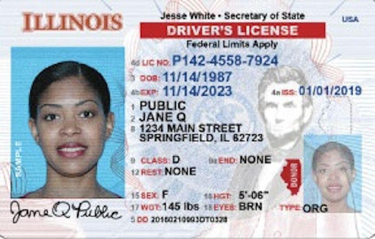 Amplían fecha de vencimiento de las licencias de conducir en Illinois