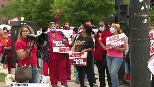 Huelga de enfermeras del Condado de Cook el jueves