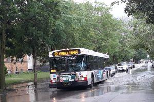 Nublado, ventoso y lluvioso este viernes en Chicago