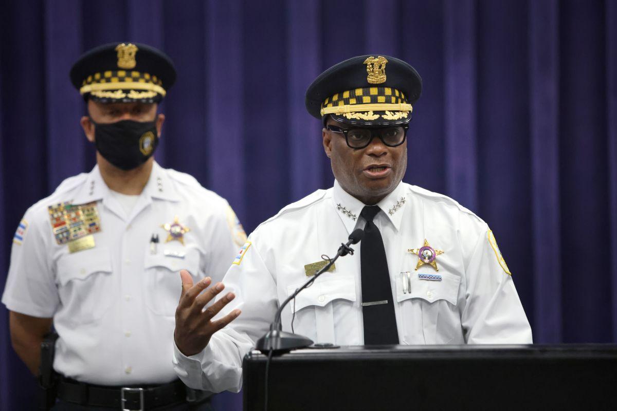 David Brown, superintendente del Departamento de Policía de Chicago.