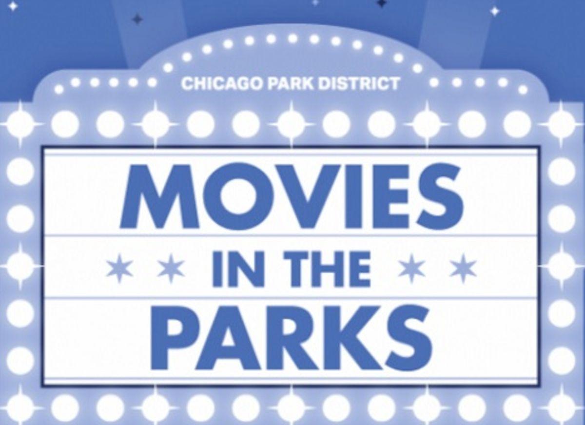 Con el verano llegan las películas al aire libre en el Distrito de Parques de Chicago. Foto Google Maps