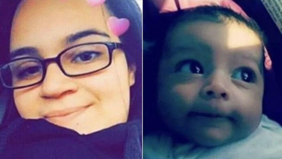 Selena Torres de 24 años y Cielo Arriaga de 2 meses de nacida ambas fueron vistas porúltima vezen las cercanías de la calle 56th y la avenida Wolcott en el vecindario de West Englewood. Foto Cortesía CPD
