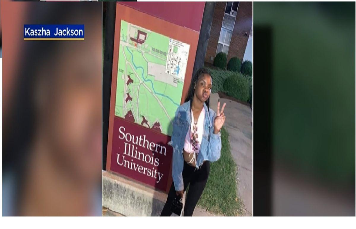 Una vigilia por la joven estudiante fallecida Keeshanna Jackson se llevó a cabo el domingo por la noche. CBS2
