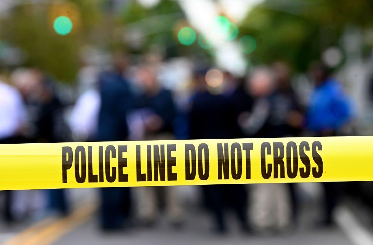 La escena de un crimen.